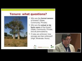 Terry Sunderland presents: Environmental incomes and rural livelihoods