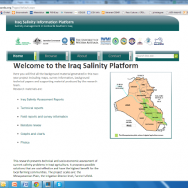 Iraq Salinity platform