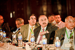 During the International Conference on Policies for water and food security in dry areas