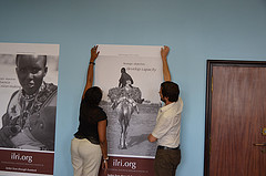 Muthoni Njiru and Ewen LeBorgne
