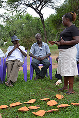 Visit to Lower Kamula village in Kenya: Session on community appreciation