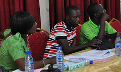 CARE-CCAFS in Gender & Participatory Research in Ghana