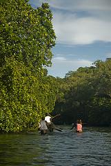 Women going to market in Lau Lagoon, Solomon Islands. Photo by Eran Brokovich.