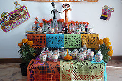 GCP Ofrenda for Day of the Dead, 2014