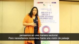 Peru's national forestry service and the landscape approach – Fabiola Muñoz Dodero