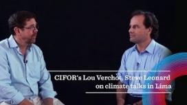 CIFOR's Lou Verchot and Steve Leonard on climate talks in Lima