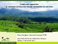 Landscape approaches to maximize social, economic and environmental outcomes – Peter Holmgren CIFOR