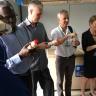 Tutwiler, Merckx, Rijsberman, Williams, Sanginga tasting soy milk in the BIP